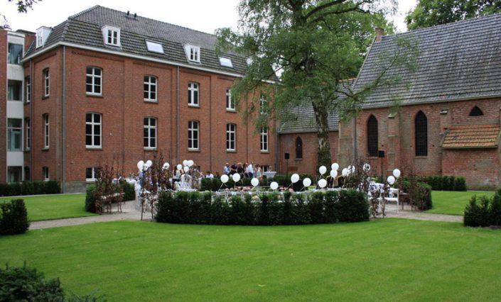 sfeerimpressie feesten kloosterterras