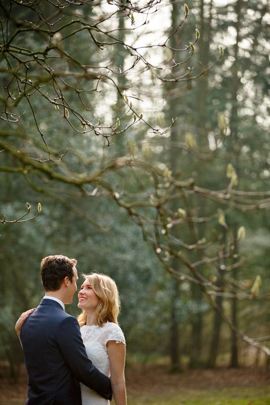 sfeerimpressie feesten bruidspaar